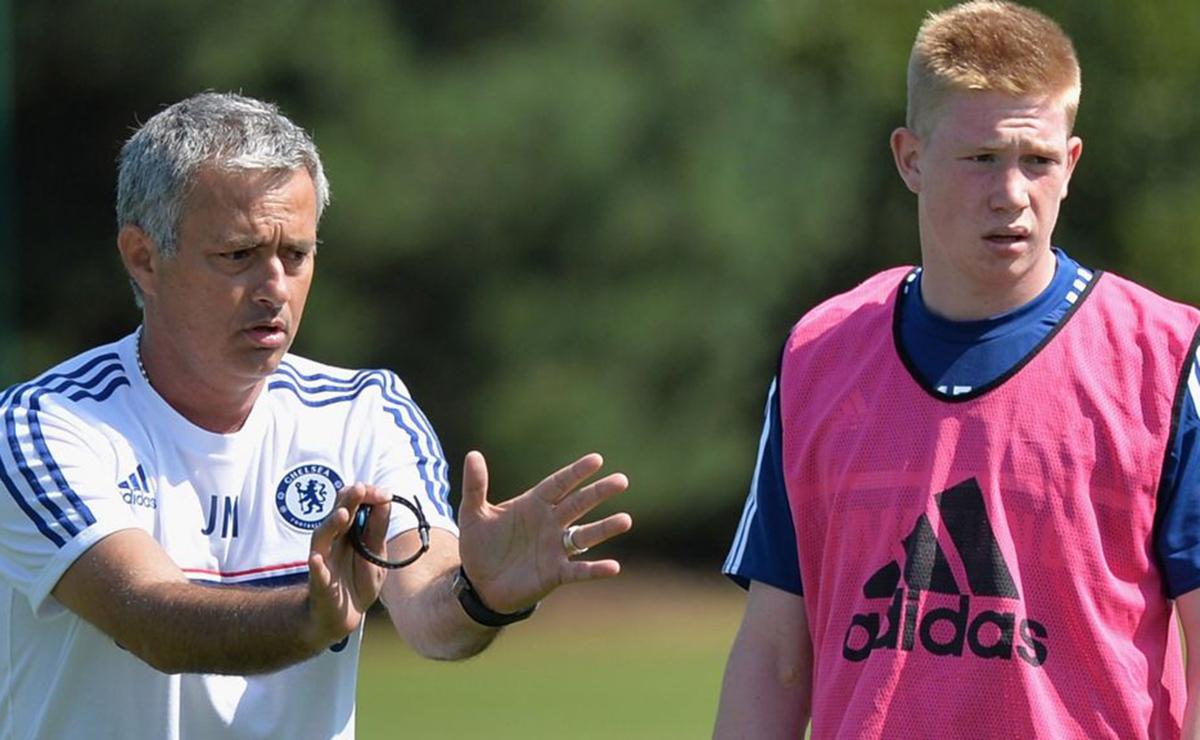 José Mourinho y Kevin de Bruyne