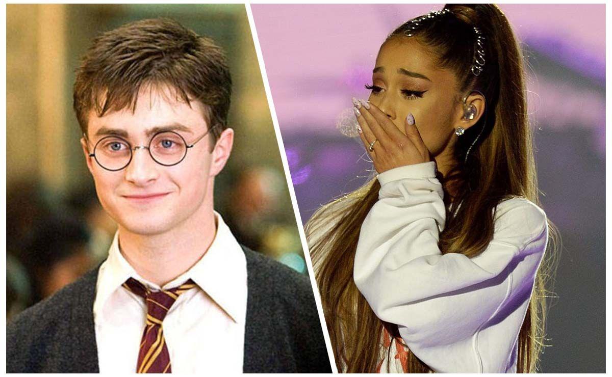 Ariana Grande fan de Harry Potter