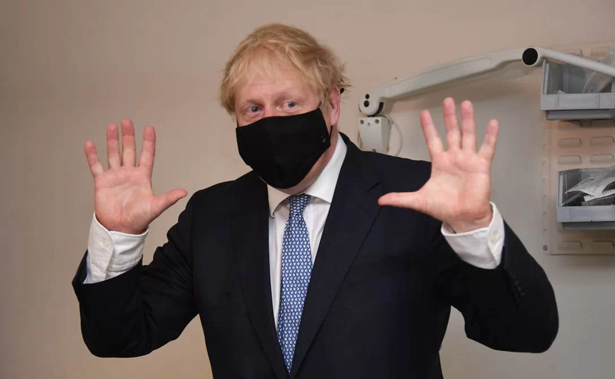 reino unido Boris Johnson