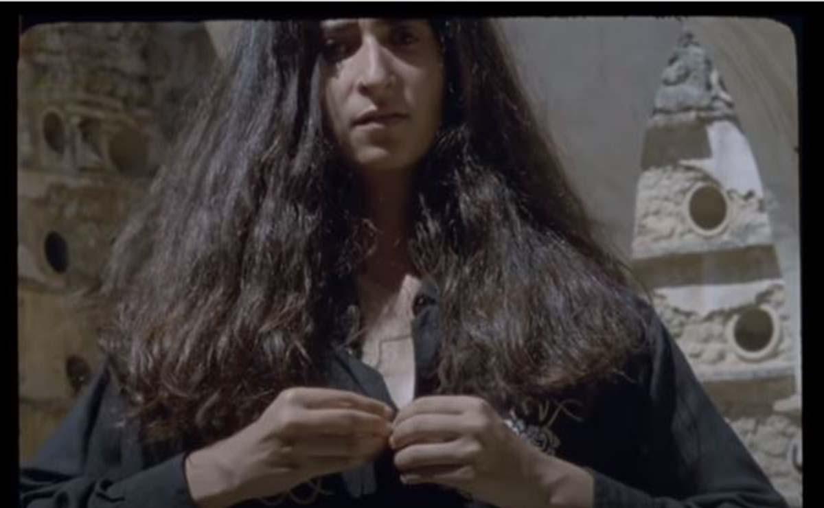 Alba Flores en el videoclip de 'Tango De La Vía Láctea'