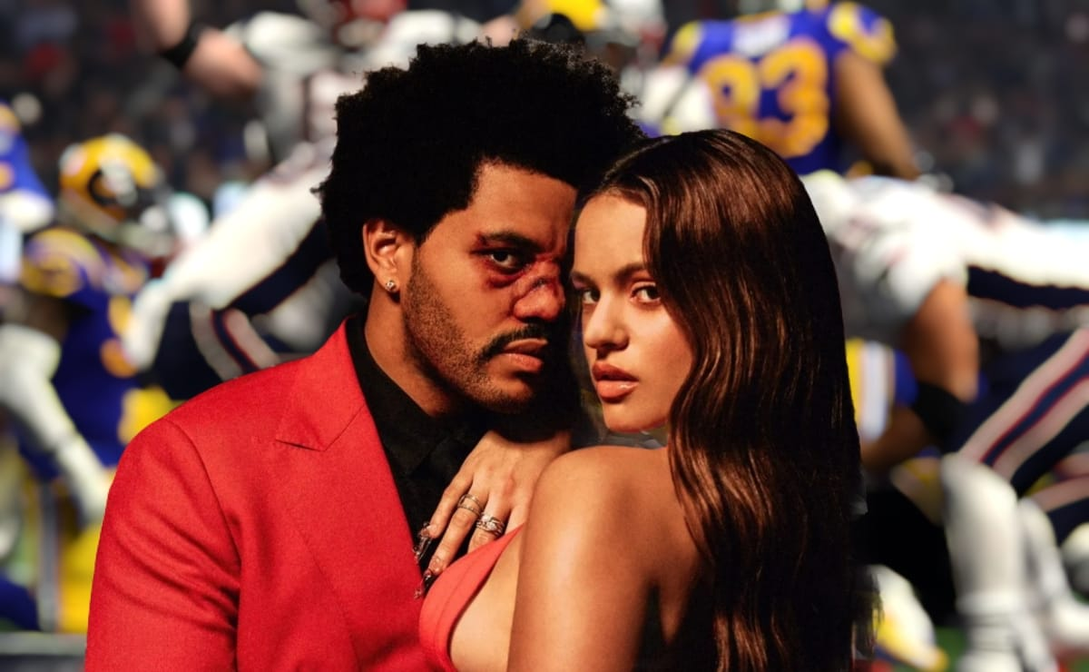 Rosalía Super Bowl The Weeknd