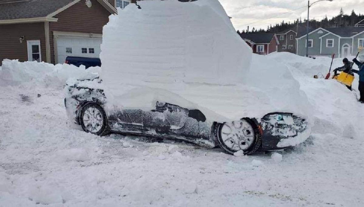 nieve hielo casas Filomena