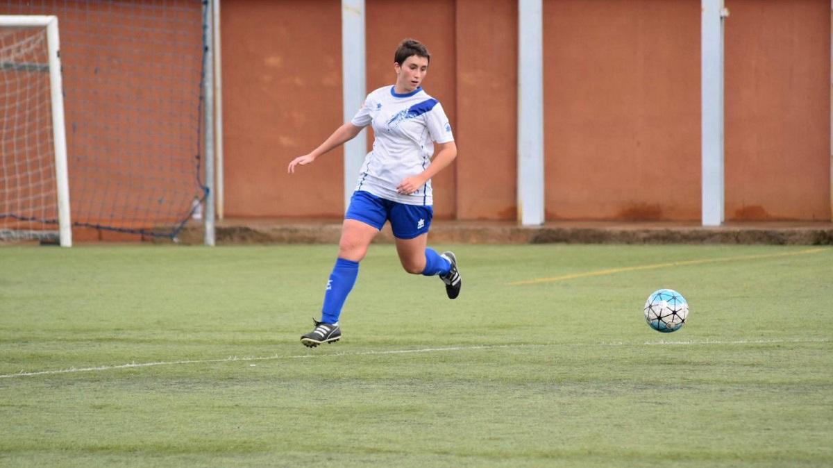 Rosa Sáenz futbolista