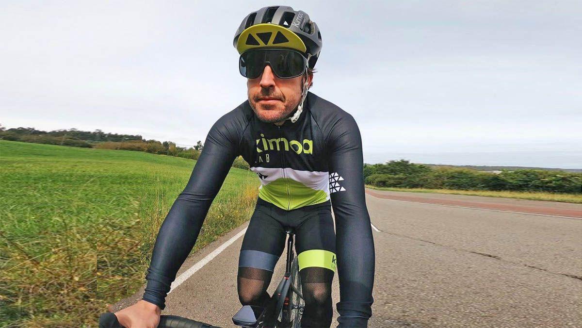 Fernando Alonso Instagram bicicleta
