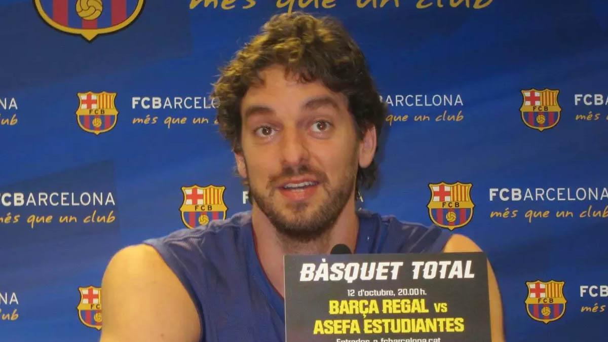 Pau Gasol FC Barcelona