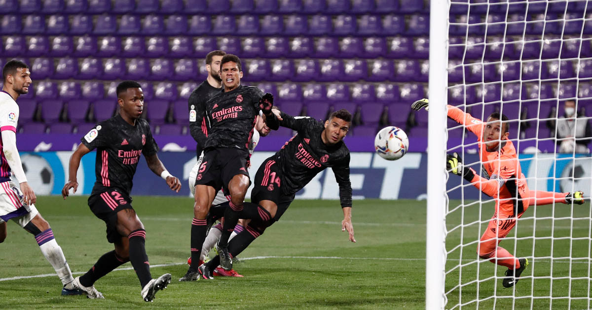 Real Madrid Valladolid LaLiga