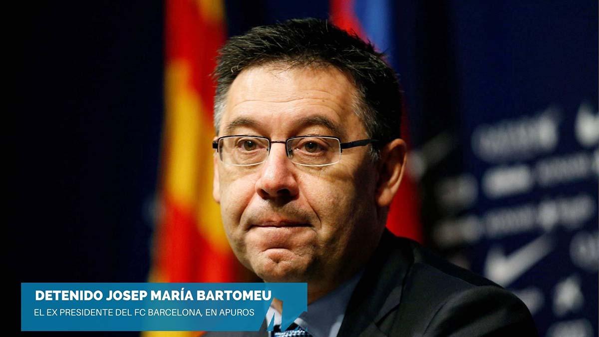 Detenido Josep María Bartomeu, expresidente del FC Barcelona