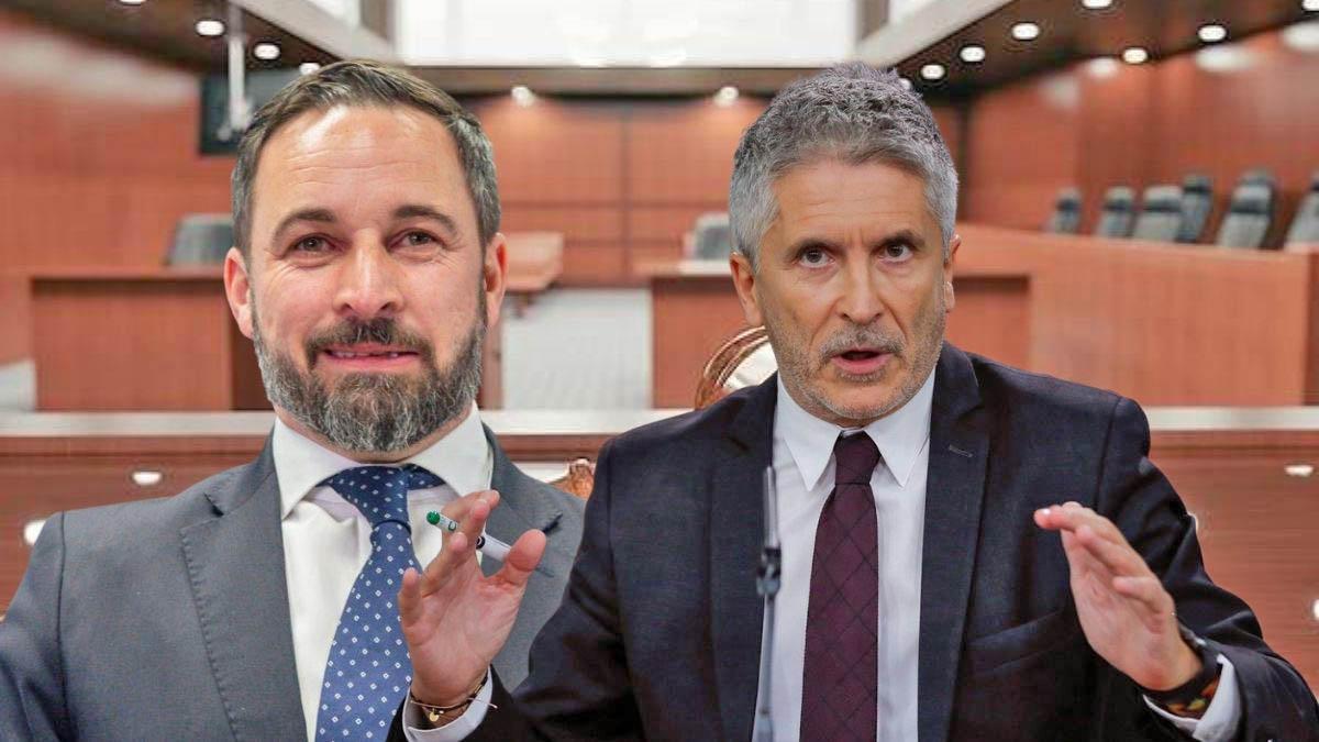 Vox se querella contra Marlaska por lo sucedido en el mitin de Vallecas