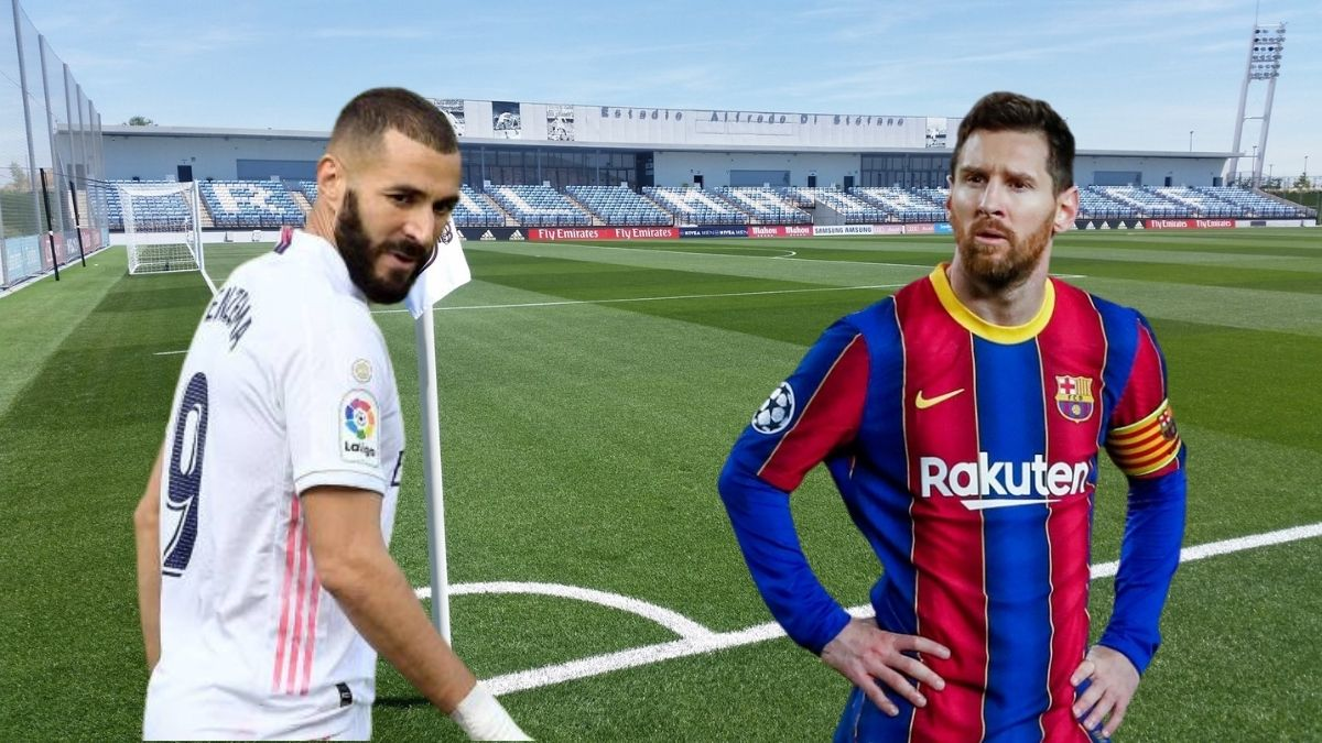Karin Benzema Lionel Messi FC Barcelona Real Madrid El Clasico